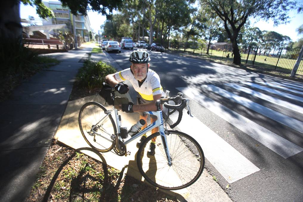 Cash cows: Werner Steyer believes the fines for biking offences suggest the government is more interested in revenue raising than safety. Picture: Robert Peet