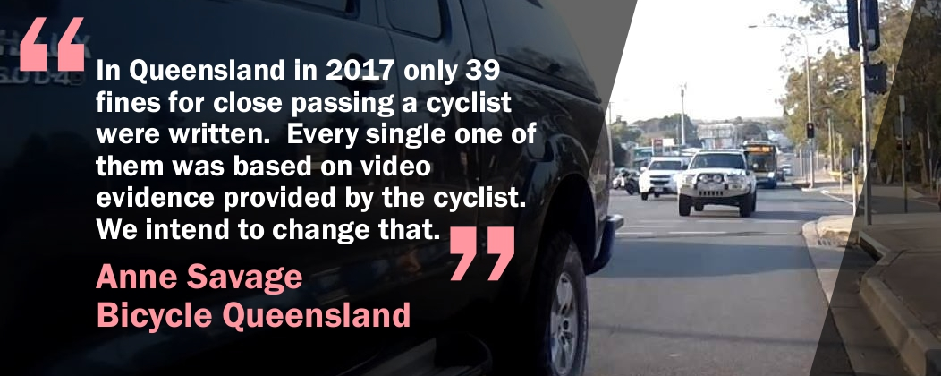 Anne Savage from Bicycle Queensland