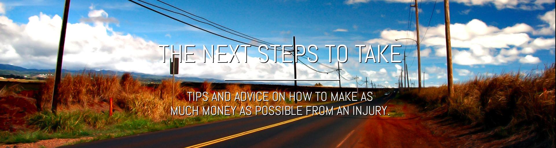The Next Steps To Take