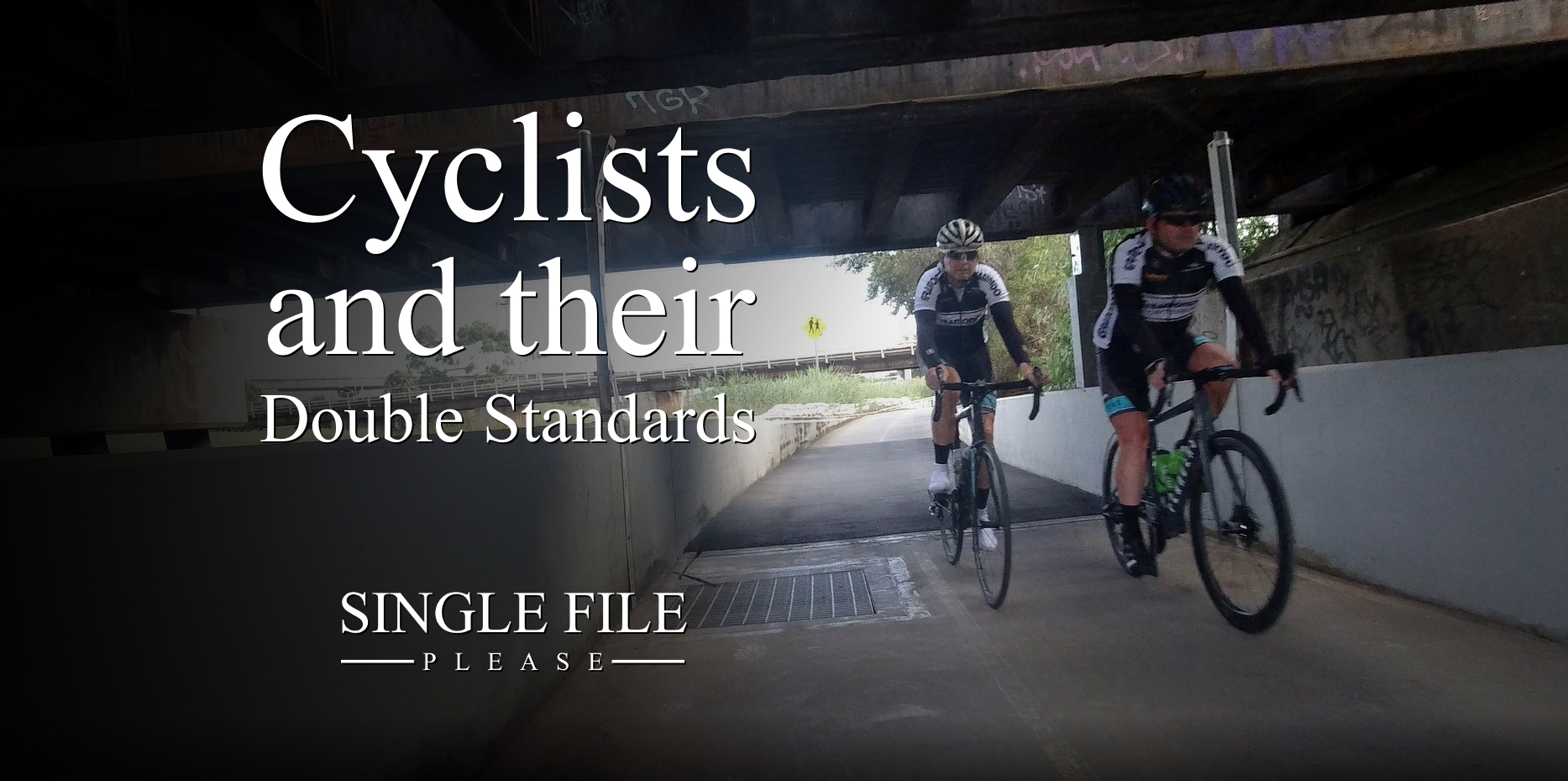 Cyclists And Their Double Standards